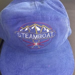 Other - Vtg 90s colorado steamboat resort ski corduroy hat